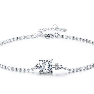 925 Sterling Silver CZ Bracelet